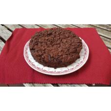 Chocolade crumble cake